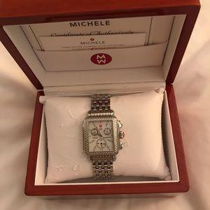 Michele Accessories - Michele Deco diamond watch